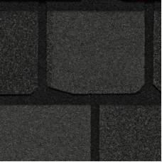Гибкая черепица CertainTeed Коллекция Highland Slate черный