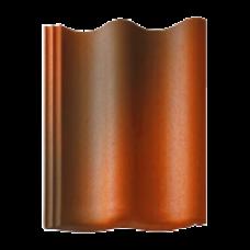 Цементно-песчаная черепица BRAAS Янтарь антик красная