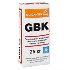 GBK Тонкошовная кладочная смесь для ячеистого бетона - Зимняя