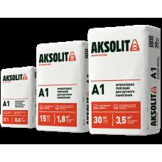 Штукатурка гипсовая для ручного нанесения AKSOLIT A1