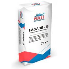 Белая цементная шпатлевка PEREL FACADE - B